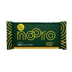 Nooro Lemon and Ginger CBD Snack Bar