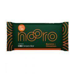 Nooro Banana and Cinnamon CBD Snack Bar