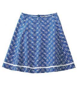 Organic Hemp Summer Skirt - Navy