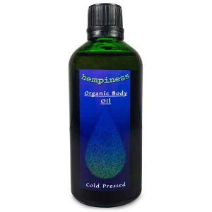 Hemp Massage Body  Oil