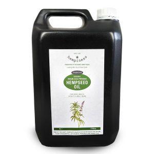 Hempiness Organic Premium Hemp Seed Oil 5 litres