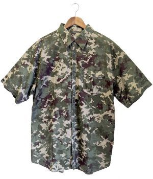 Hoodlamb Cannaflage Organic Hemp Short Sleeve Shirt