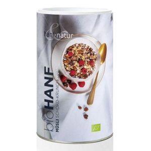 Organic Hemp Protein Power Flakes Muesli With Chocolate
