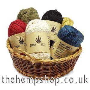 Hemp & Wool knitting yarn