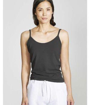 Everyday Vest Top - black (on model)