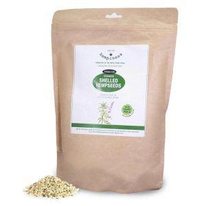 Hempiness Organic Premium Shelled Hempseeds - 2.5kg Front
