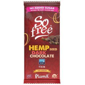 So Free - No Added Sugar Dairy Free Hemp Chocolate