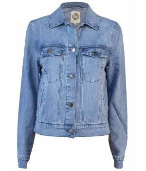 Hemp Hoodlamb Ladies Denim Jacket
