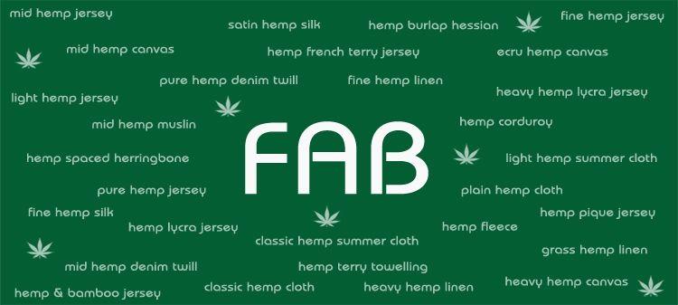 Europe's largest range of hemp fabrics