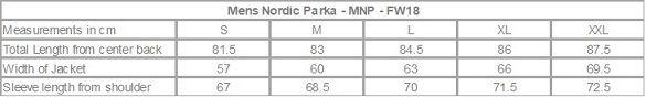 Hoodlamb Mens Nordic Parka