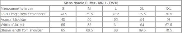Hoodlamb Mens Nordic Puffa