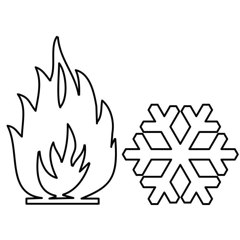 thermodynamic fabrics