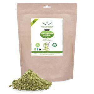 Organic Hemp Protein Powder 36%- Biodegradable Packaging