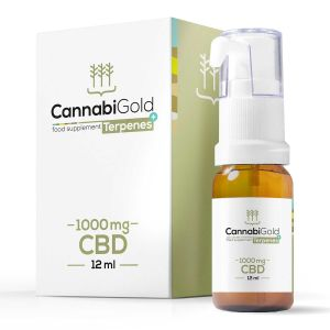 CannabiGold Terpenes+ CBD Oil 1000mg - 12ml