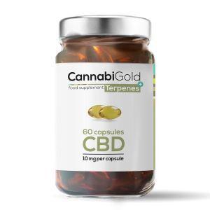 CannabiGold Terpenes+ CBD Capsules 600mg