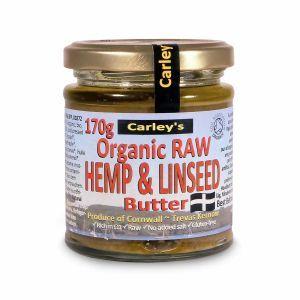 Organic Raw Hemp & Linseed Butter from Carleys