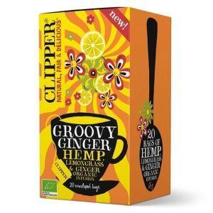 Clipper Groovy Ginger Lemongrass and Hemp Tea Bags