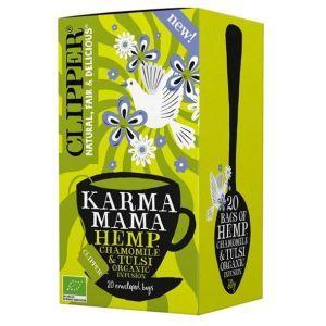 Clipper Karma Mama Hemp Chamomile and Tulsi Organic Tea Bags