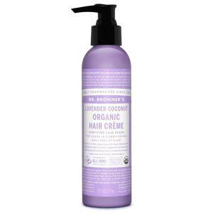 Dr. Bronners Organic Hair Creme, 178 ml Lavender Coconut