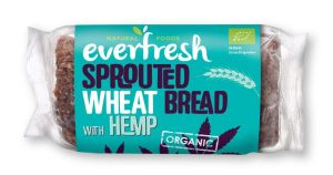 Sprouted Wheat Bread With Hemp