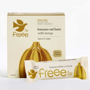 Banana and Hemp Seed Oat Bar