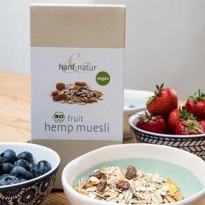 Organic Hemp Fruity Muesli