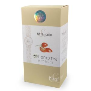 Organic Hemp & Fruit Tea - loose