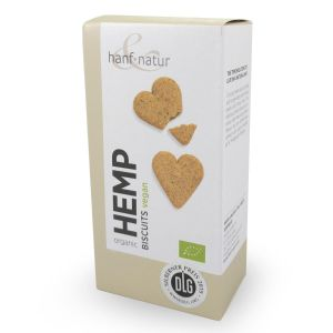 Hemp and Spelt Heart Shaped Biscuits