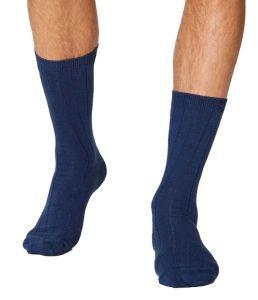 Helpful Hardy Hemp and Cotton Socks - Blue