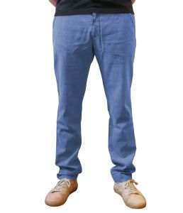 Organic Hemp Chino Trousers -  on model