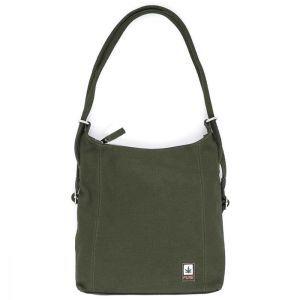 Hemp Handbag / Backpack - Khaki