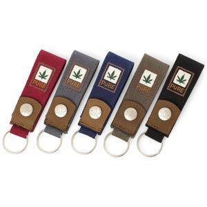 Organic Hemp Key Ring Fob
