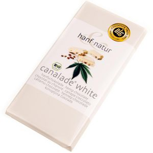 White Chocolate with Hemp Seeds