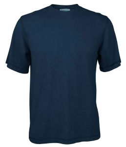 Organic Mens Hemp Tshirt - Navy Blue