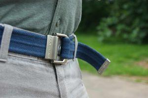 Hempiness D-Ring Belt-On-Trouser