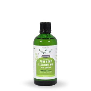 Hempiness Organic Premium Hemp Essential Oil - 50ml