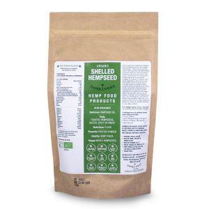 Hempiness Organic Vegan Shelled Hempseeds - 250g
