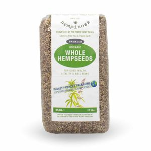 Hempiness Organic Premium Whole Hemp Seed 500g