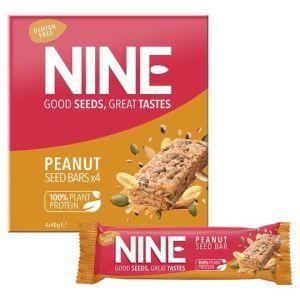 Nine Bar Peanut and Pumpkin Seed