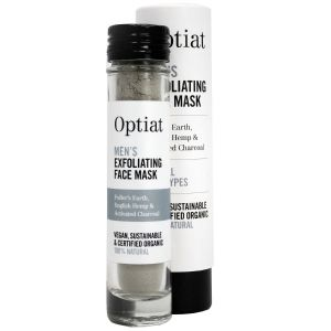 Optiat Men's Exfoliating Face Mask - with box