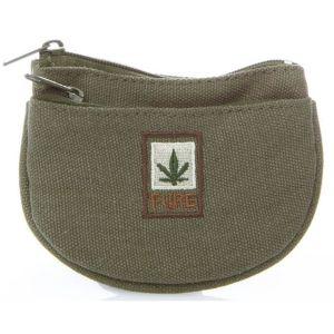 Organic Hemp Pocket Pouch - Khaki