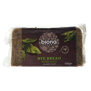 Hemp Rye Bread
