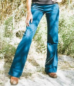Sustainable Hemp Trousers - Blue