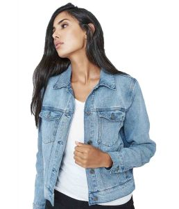 Women's Hemp Denim Jean Jacket