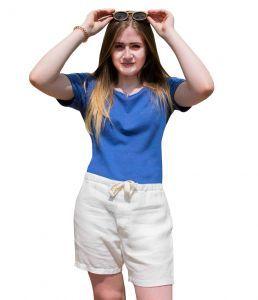 Womens 100% Hemp Organic Sustainable Shorts - Grey