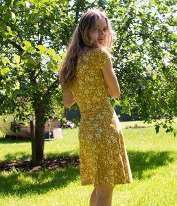 Hemp Jersey Party Dress