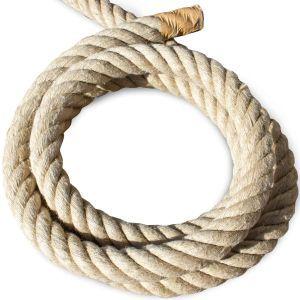 Natural 100% Hemp Rope 40mm