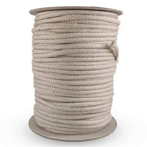 Hemp Braid Cord 6.5mm - roll