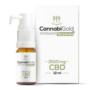 CannabiGold Terpenes+ CBD Oil Full Spectrum