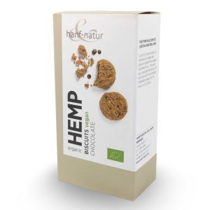 Organic Hemp Chocolate Biscuits